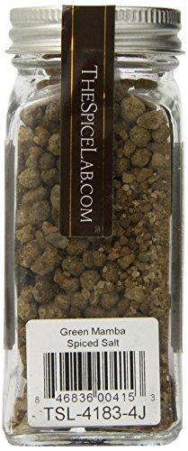 The Spice Lab Spiced Salt, Green Mamba, 3.38 Ounce