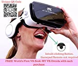 My VR Headset- INFINITY !!! Immersive with 120 degree FOV , With Inbuilt Clicking button & Wireless Sound Headset, Call answering Buttons. Inspired by Google Cardboard & Oculus Rift. Best for K8 Note, Android & I Phones