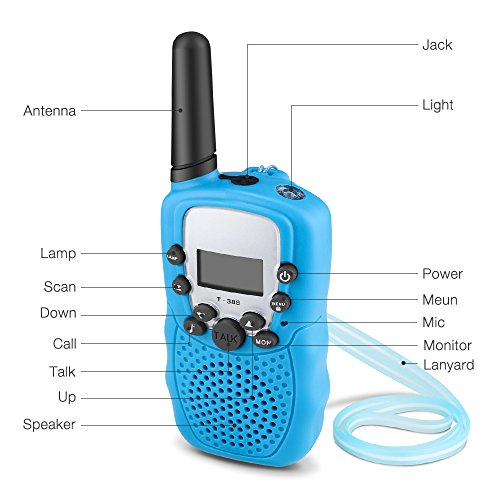 Walkie Talkies for Kids, Mopoin FRS/GMRS 2 Way Radios 22