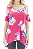 Smallshow Women's Nursing Breastfeeding Tops Cold Shoulder X-Large SVP047