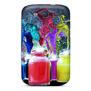 YoU5274HkOW Case Cover Abstract Galaxy S3 Protective Case