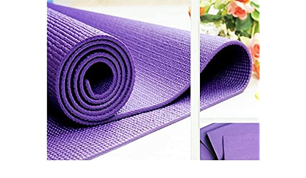 Amazon.com : Online Quality Store Yoga Mat 4Mm Thick (Multi ...