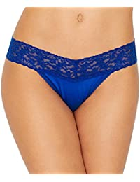 Women's Maternity Hank Panky Cotton Low Rise Thong Panty