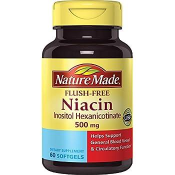 Take One Nature Bounty Niacin Flush Free