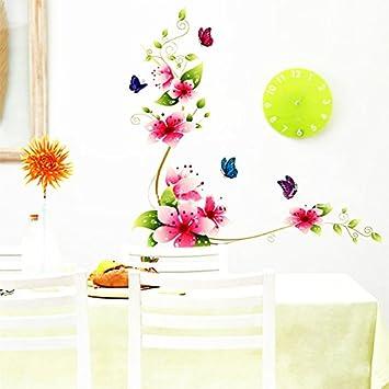 Charmant 90cm Gysad Patrón De Flores Vinilos Decorativos Pared DIY Decoracion Hogar  Multicolor Cuadros Modernos Baratos Size ...