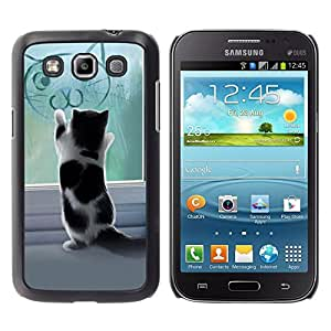 All Phone Most Case / Oferta Especial Duro Teléfono Inteligente PC Cáscara Funda Cubierta de proteccion Caso / Hard Case Samsung Galaxy Win I8550 // Cute Kitten Playing