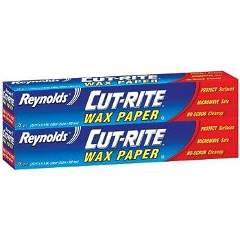 Reynolds Wrap Cut-Rite Wax Paper - 75 sq ft - 2 pk