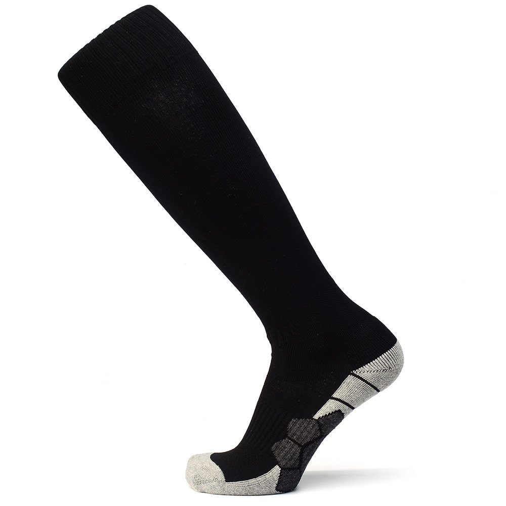 Sport Compression Elite Football Crew Cushion Soccer Training Socks for Men Women Youth