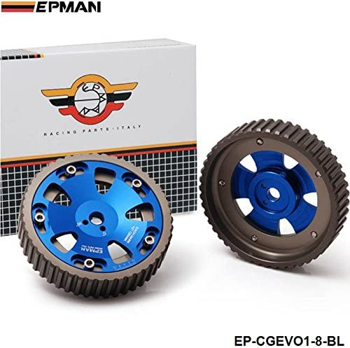 2PCS Auto CAM Gear Timing Pulley For Mitsubishi Lacer Evolution I~VIII MR 4G63
