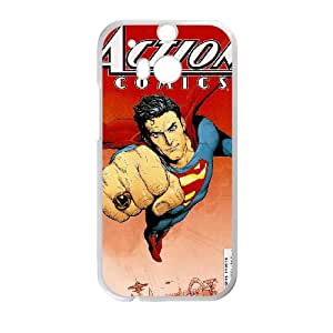 HTC One M8 Cell Phone Case White Action Comics oru