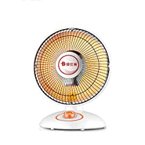 GUO@ Household Energy-saving Halogen Tube Heating Small Heater Mini Speed Heating Stove Electric Fan For Office 600W 300mm400mm Space Heaters (color : Upgrade)