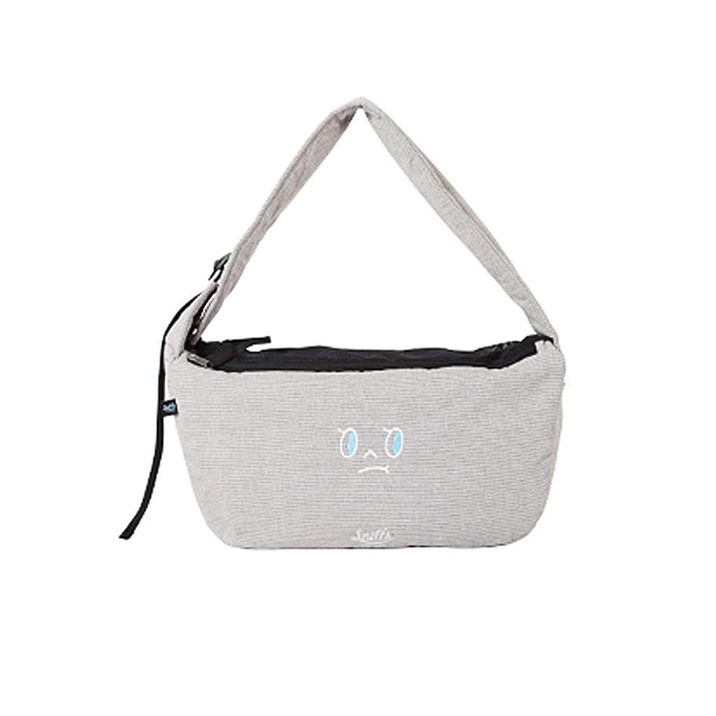 B 50x27cm B 50x27cm MIAOLIDP Shoulder Bag Adult Pet Backpack Dog Bag Pet Supplies Pet cat carrier (color   B, Size   50x27cm)