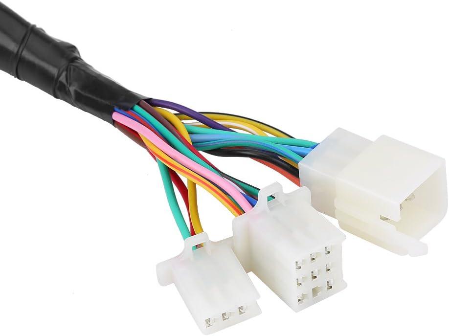 Contachilometri moto digitale universale Contachilometri moto contachilometri LCD colorato Sensore di velocit/à calibro 199KMH DC12V