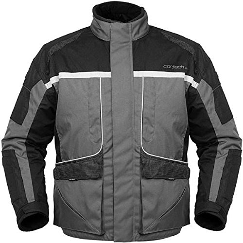 Cortech Cascade Women's Snow Snowmobile Jacket - Gunmetal/Black / Large (Snow Amo Jacket)