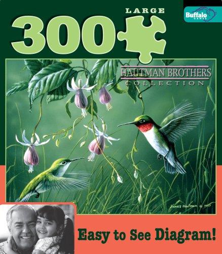 Hautman 300 - Hummingbirds and Fuschia