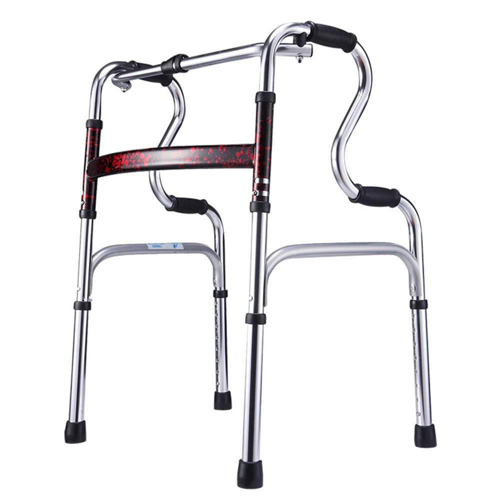 Walking stick stool Camminatore Anziano, stampelle, Bastoncini telescopici Pieghevoli Anziani, stampella Antiscivolo, Stile  A