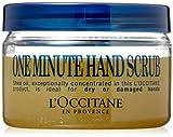 L'Occitane One Minute Hand Scrub with 15% Shea Oil and Organic Brown Sugar, 3.5 oz.
