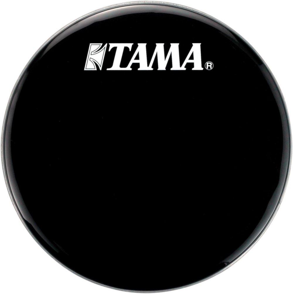 Tama Logo Resonant Bass Drum Head 22 in. Black BK22BMWS
