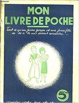 Amazon Fr Mon Livre De Poche Tout Ce Qu Un Jeune Garcon