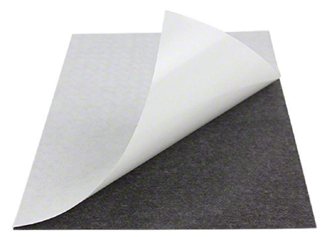 Magnet Valley 1,000 sheets 5'' x 7'' Magnetic (20 mil) Adhesive Magnet