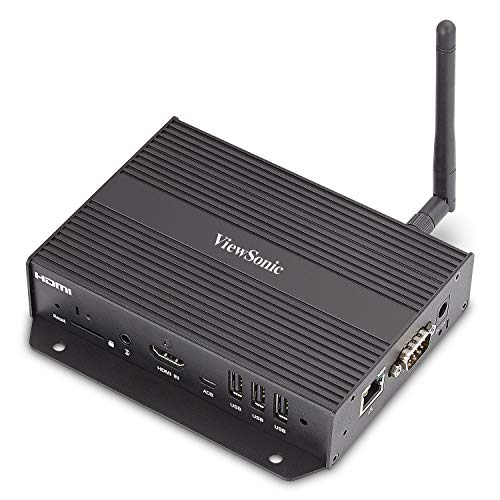 ViewSonic NMP580-W Wireless Network Media Player for Full HD 1080p Commercial Displays