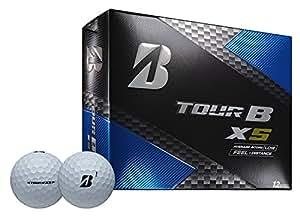 Bridgestone Golf Tour B XS Golf Balls, White  (One Dozen)