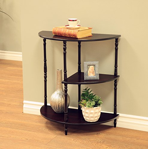 Frenchi Home Furnishing Multi Tiered End Table, Espresso