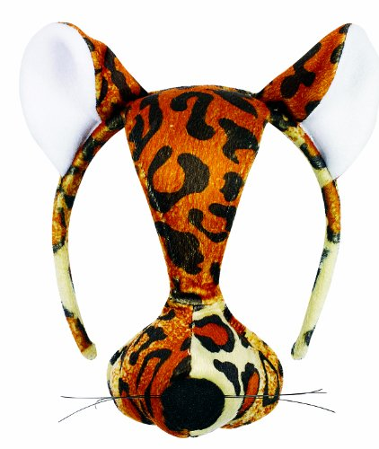 Small World Toys Furree Faces - Leopard Mask w/ sound (Leopard Masks)