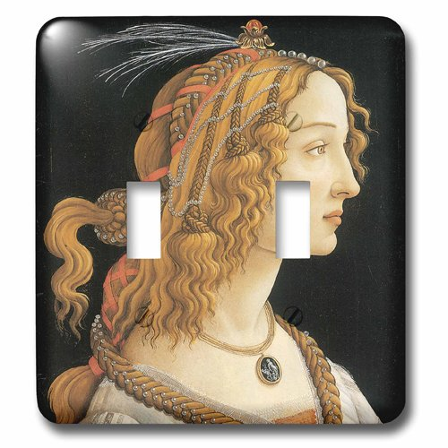 3drose LSP_ 127037_ 2_ Young 3drose Woman 2 in Mythological Guise by Sandro Botticelliダブル切り替えスイッチ B00DNJRWSS, メンズバッグ 豊岡 鞄倶楽部:cca3e5ed --- number-directory.top