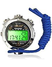 LAOPAO, cronometro, Display Impermeabile per Uso Quotidiano con Funzione Luce e modalità silenziosa per Sport all'Aria Aperta e Corsa