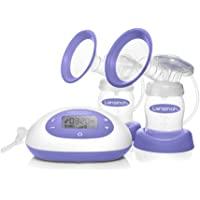 Lansinoh Signature Pro Double Electric Breast Pump With LCD Screen, Hygienic Closed System Design, Adjustable Suction Levels And Customizable Pumping Styles For Maximum Milk Production