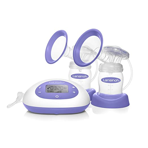 Lansinoh Signature Pro Double Portable Electric Breast Pump with LCD Screen ( Pack May Vary )