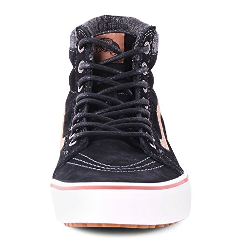 VANS Classic SK8-HI MTE Scochguard 3M Sneaker skate leater Negro (Black/Tobacco Brown)