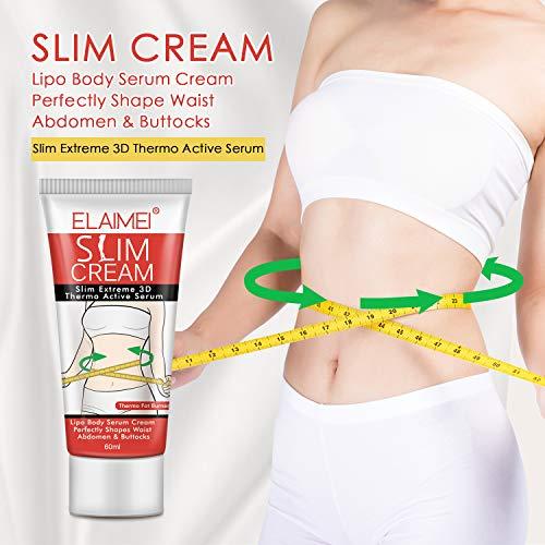 Slim Cream, Hot Cream, Slim Massage Cream for Shaping Waist, Abdomen and Buttocks 5