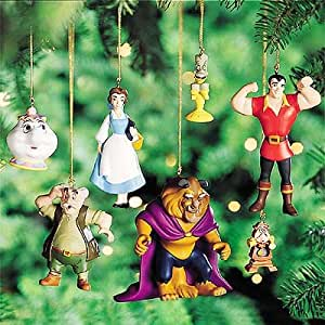 Disney's Beauty and the Beast Storybook Ornament Set