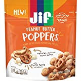 Jif Poppers Peanut Butter-Coated Popcorn and Pretzels, 6 Ounce, Creamy, 3 Count
