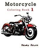 Motorcycle : Coloring Book 1: design coloring book