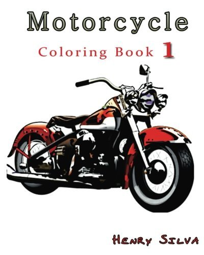Motorcycle : Coloring Book 1: design coloring book (Motorcycle Design)