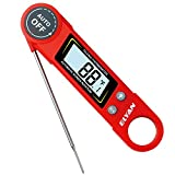ELYAN Kitchen Thermometer Meat Thermometer Cooking Thermometer BBQ Thermometer Report Thermometer Instant Read
