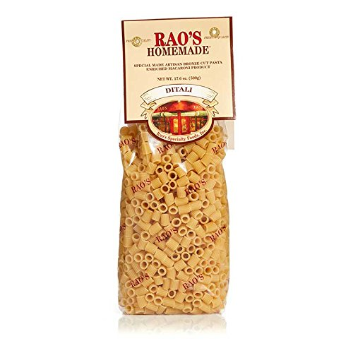 Rao's Specialty Foods, Ditali Pasta, 3 Pack, Artisanal Fresh Dried Italian Pasta, Small Tube Shaped Pasta from Durum Wheat Semolina Flour, Imported from Italy, Great for Soups like Minestrone by Rao's Homemade