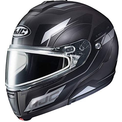 - HJC CL-Max 3 Flow Men's Snowmobile Helmet With Electric Shield - MC-10 / X-Large
