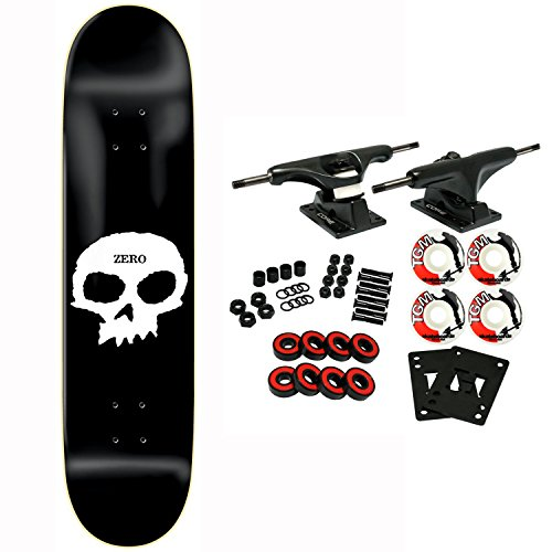 Zero Skateboard Complete Single Skull 7.75
