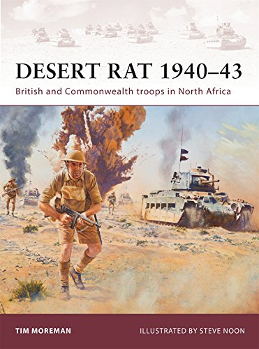 Desert Rat 1940–43: British and Commonwealth troops in North Africa ()