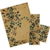 Mohawk Home Soho Plum Vine Floral Printed Area Rug Set, Set Contains: 16x26, 18x5 and 5x7
