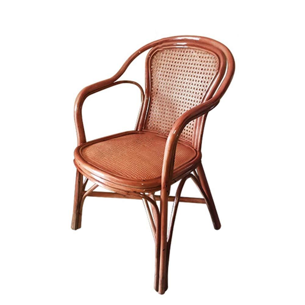 Amazon Com Seeksung Chair Home Rattan Wood Hand Woven Chair