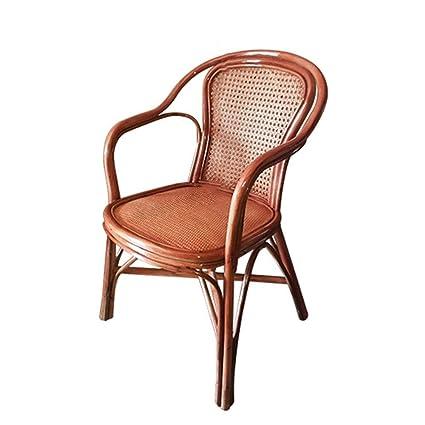 SEEKSUNG, silla del tejido a mano Inicio Rattan Wood, chino Rattan ...