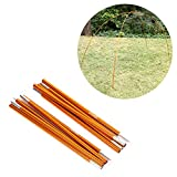 Aluminum Tent Poles, Tent Stakes Tent Bar Rod Pole Tent Accessories For Camping Hiking Shelters And Awnings