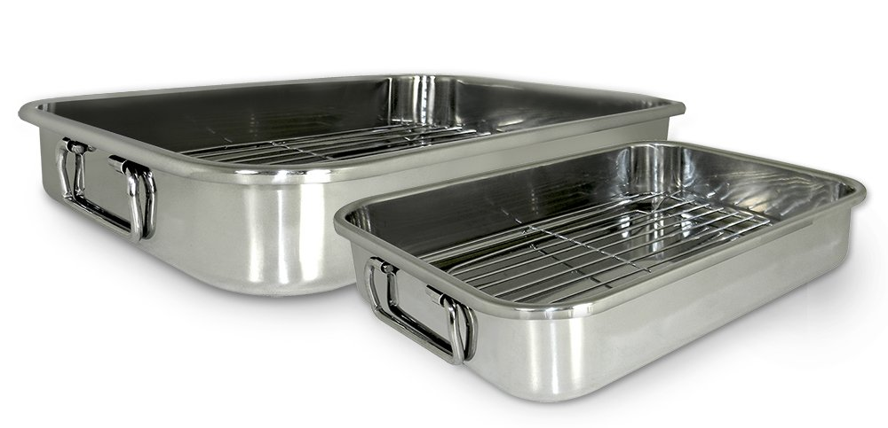 ExcelSteel 561 4-Piece All-in-One Lasagna and Roasting Pan Cook Pro Inc.