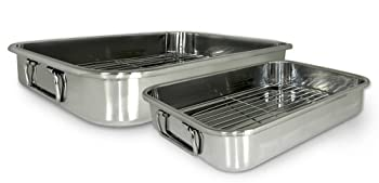 Cook Pro 561 4-Piece All-In-1 Roasting And Lasagna Pan