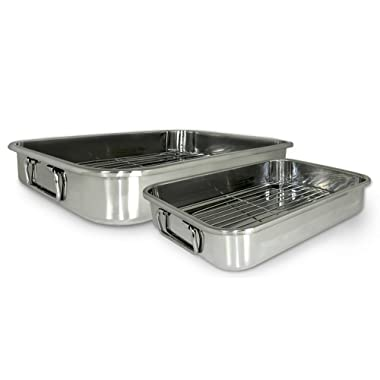 Cook Pro 561 4-Piece All-in-1 Lasagna and Roasting Pan